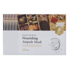 COMBO 10 Mặt Nạ Lụa Sinh Học Cao Cấp Primium Bio Cellulose Nourishing Ampule ( Nuôi Dưỡng Da Chiết Xuất Từ Thảo Dược Và Các Loại Thuốc Quý)