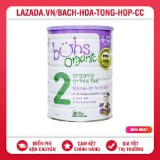 Sữa Bubs Organic số 2 800G Úc – 02/2022 (trẻ từ 6-12 tháng)