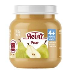 Trái cây nghiền Heinz với lê nghiền cho trẻ ăn dặm từ 4 tháng