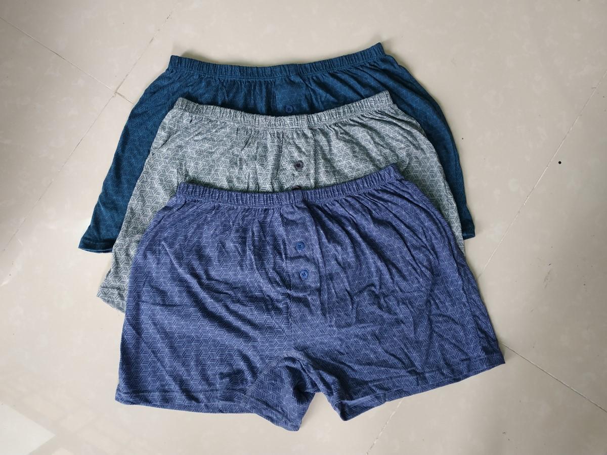 Quần ngủ nam thun cotton, quần ngủ nam thun mát LN093 ( bộ 3 quần)