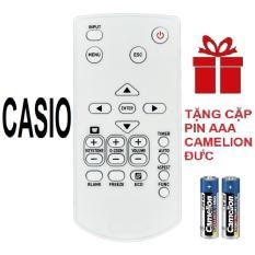 Remote điều khiển máy chiếu CASIO mẫu 1 projector ( Hàng hãng – Tặng pin )