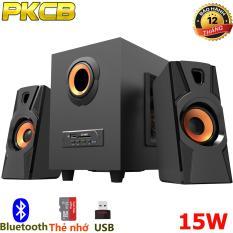 Loa Bluetooth Super Bass di động loa Vi Tính dùng cho điện thoại, máy tính bảng, laptop, máy tính Cao cấp Có Kết Nối Bluetooth PKCB A900 bộ 3 loa (PF 108)