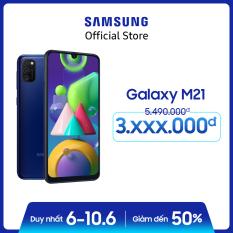 Điện thoại Samsung Galaxy M21 – Siêu pin mãnh thú 6000mAh lớn nhất Samsung Galaxy -Bộ ba camera sau 48MP nâng tầm nhiếp ảnh – Hàng phân phối chính hãng.