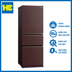 Tủ lạnh Mitsubishi Inverter 365 lít MR-CGX46EN-GBR-V Nâu – Miễn phí vận chuyển & lắp đặt – Bảo hành chính hãng