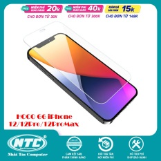 Kính cường lực Hoco G6 for iPhone 12 Mini / 12 / 12 Pro / 12 Pro Max (Trong suốt) – Nhat Tin Certified Store
