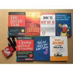 Combo 7 sách kĩ năng hay: Đắc nhân tâm, Nhà giả kim, Đọc vị, Cư xử như đàn bà, Quẳng gánh lo, Tuổi trẻ, Khéo ăn nói