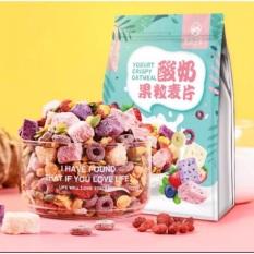Ngũ Cốc Ăn Kiêng Giảm Cân Keto Mix Hoa Quả Sữa Chua (Xanh Schua 500Gr)
