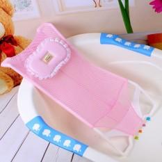 Giường lưới kê chậu tắm cho bé kèm gối – Lưới tắm cho bé tặng gối – Lưới đỡ tắm cho bé kèm gối