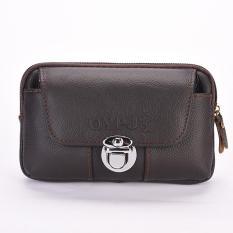 Túi đeo thắt lưng đựng điện thoại da thật TM15