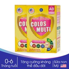 Combo 2 hộp Sữa Non Mama Colos Multi A0 hộp 350g