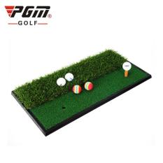 Thảm Tập Swing Golf – PGM Double Grass Mini Hitting Mat – DJD005