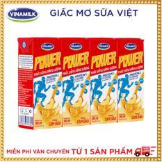 Thùng 48 hộp Thức Uống Năng Lượng Vinamilk My Power Hương Cam Đào
