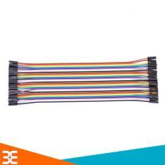 Dây Nối 40P 7 Màu Dài 21Cm ( 2 Đầu Cái Cái ) [Tp.HCM]