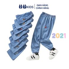 Quần dài bò giấy bé trai bé gái 27Kids quần jean mềm nam nữ cho trẻ từ 2-10 tuổi UPB02