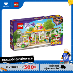LEGO FRIENDS 41444 Tiệm Cà Phê Hữu Cơ Heartlake ( 314 Chi tiết) Đồ chơi giáo dục lắp ráp cho bé gái