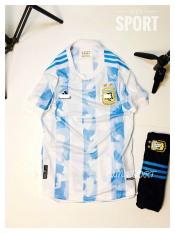 Quần áo bóng đá ĐT Agentinal hàng cao cấp mẫu mới 2020