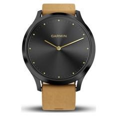 SMARTWATCH Garmin Vivomove HR Premium – Black Tan color – Global