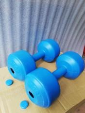 Bộ 2 cái vỏ tạ tay nhựa 5kg phucthanhsport
