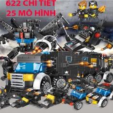 Lego Xe Tăng, Lego Robot, Lego City mô hình đẹp, bắt mắt giúp bé rời xa điện thoại, tivi-HAPPY SHOP ONE