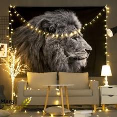 Tranh vải treo tường decor, thảm treo tường Mary Texco trang trí không gian sinh động đầy cá tính, size 150 rộng x 130 cao, TẶNG phụ kiện treo + đèn USB dài 6m