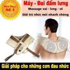BẢO HÀNH 1 ĐỔI 1 – Đai massage lưng và vai trị liệu nhức mỏi chữa đau lưng và nhức mỏi vai