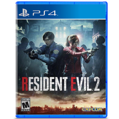 Đĩa game Resident Evil 2 Remake PS4