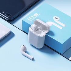 ( Hàng Sịn Nguyên Seal- Nút cảm ứng – tự động kết nối ) Tai Nghe Bluetooth I11 nút cảm biến , âm thanh 5.0 đỉnh cao -Tai nghe không dây – Tai nghe dành cho iphone, xiaomi, sam sung, oppo