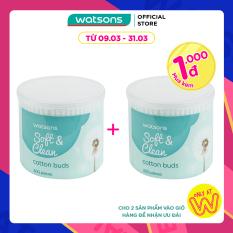 [1000 đ CHO SẢN PHẨM THỨ 2] Tăm Bông Watsons Cotton Buds 300 Que