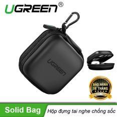 Hộp đựng tai nghe thẻ nhớ cáp USB chống sốc chống nước UGREEN 40816 – Hãng phân phối chính thức