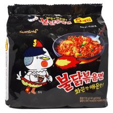 Mì khô gà cay Samyang Hàn Quốc vị truyền thống (COMBO 5 GÓI)