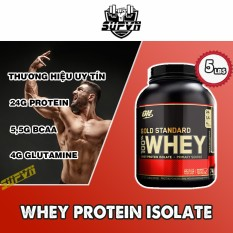 100% Whey Protein On Gold Standard Optimum nutrition 5lbs – Whey On Gold Standard 5.64 Lbs – Sữa tăng cơ bổ sung Protein