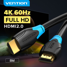 Vention dây cáp HDMI 2.0 4K High Speed HDMI Male to Male 2.0 Cable Monitor Video Cable with 3D 4K 60Hz cáp HDMI kết nối tivi 1M 2M 3M 5M 10M for HDTV LCD Projector Laptop PS3 PS4 Switch HD HDMI 2.0 Cable