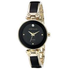 Đồng hồ nữ dây kim loại Anne Klein AK1980BKGB 28mm – Vàng, Đen