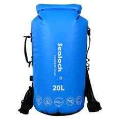 Túi chống nước (túi khô) Sealock 2019 có nút xả hơi bên hông 20L Quai có thể tháo rời