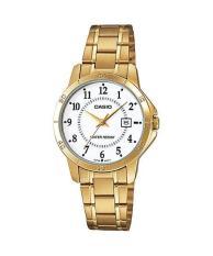 Đồng hồ nữ dây thép không rỉ Casio LTP-V004G-7BUDF