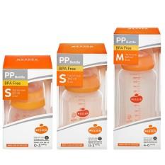 Bình sữa Wesser PP Bottle kháng khuẩn cổ hẹp 60ml/ 140ml/ 250ml chính hãng – BEEKIDS PLAZA
