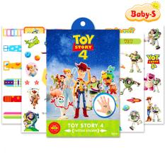 Set 4 miếng hình xăm dán chống nước cho bé trai và bé gái họa tiết hoạt hình nhiều chủ đề xinh xắn ngộ nghĩnh Baby-S – SST009