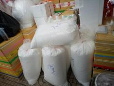0.5 kg Hạt Xốp Tròn 3-5ly Màu Trắng Trang Trí Giáng Sinh, Trang Trí Phòng…