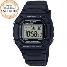 Đồng hồ nam Casio Anh Khuê W-218H-1AVDF