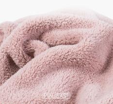 Khăn ủ tóc, quấn tóc, chất liệu vải bông siêu thấm, nhanh khô, có khuy cài tiện lợi