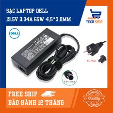 [FreeShip]Sạc laptop Dell giá rẻ TechShop 19.5V 3.34A 65w sử dụng cho Dell Inspiron 15 3551, 3558, 3559, 3565, 3567, 3576, 5552, 5559, 5565, 5567, 5570, 5578, 7537, 7570, 7573