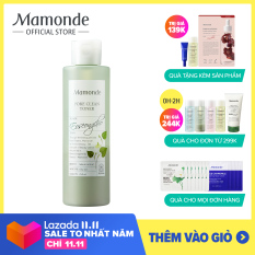 [Mamonde] Nước cân bằng da rau diếp cá se khít lỗ chân lông dành cho da dầu mụn Mamonde Pore Clean Toner 250ML