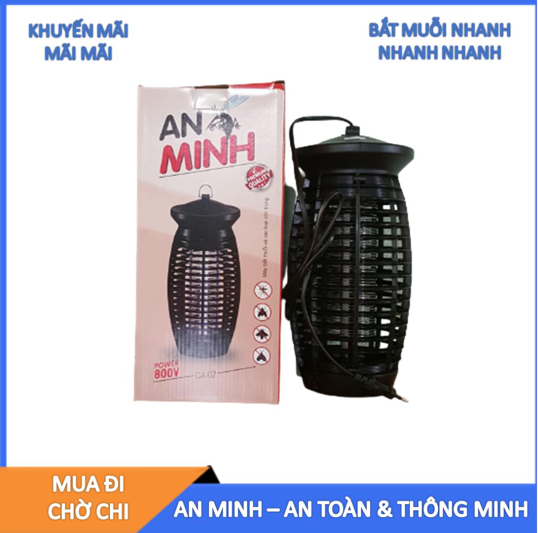 Đèn bắt muỗi, đèn diệt muỗi và côn trùng An Minh Model CA02, bắt muỗi trong 30 phút, không độc hại, bảo hành 6 tháng