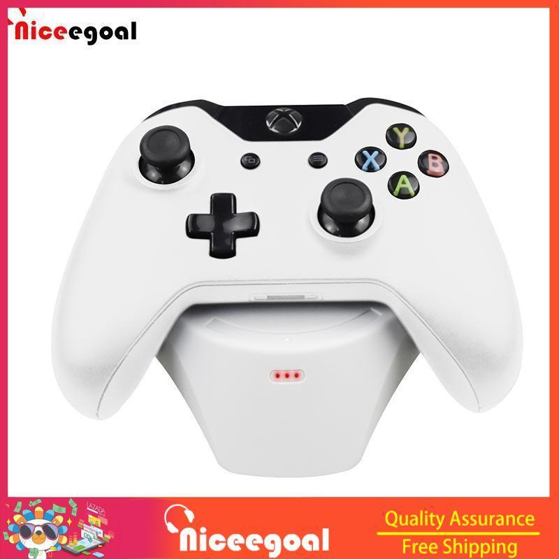 NICEEGOAL tay cầm XBOX ONE S sạc không dây Điều Khiển Không Dây Đế Sạc Tay Cầm Chơi Game Bát...