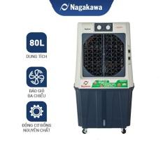 [VOUCHER 500K] Freeship – Máy Làm Mát Nagakawa NFC668 dung tích 80L/NFC999 70L – 3 cấp độ gió – phù hợp không gian rộng – công suất 220W – Bảo hành 12 tháng – Hàng chính hãng