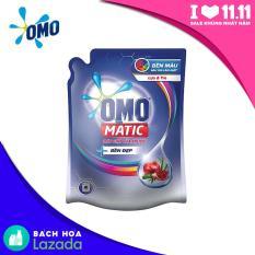 Túi Nước giặt OMO Matic Bền Đẹp Cửa Trước Hương Lựu và Tre 2.3kg