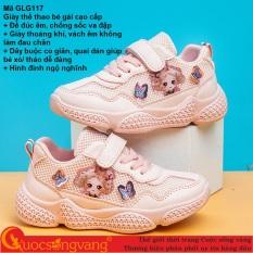 Giày thể thao bé gái đế đúc giày bé gái thể thao chống sốc GLG117 Cuocsongvang