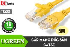 Cáp mạng đúc sẵn Cat5e dài 5m Ugreen UG-11233 cao cấp