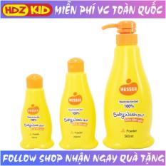Sữa tắm gội toàn thân trẻ em Wesser 2in1 nguyên liệu Hàn Quốc công dụng kháng khuẩn, kháng nấm dưỡng ẩm làn da bé, không cay mắt, chứa kháng sinh tự nhiên chống rôm sảy mụn nhọt tốt cho cả trẻ em và người lớn – HDZ-KID