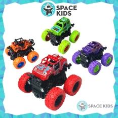 Đồ chơi trẻ em Xe ô tô địa hình quán tính loại bánh to chạy đà Buggy chất liệu nhựa ABS an toàn cho bé